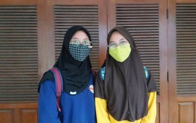 Demi SNMPTN 2021, Siswa Smamsatu Gresik Ini Datang dari Bogor