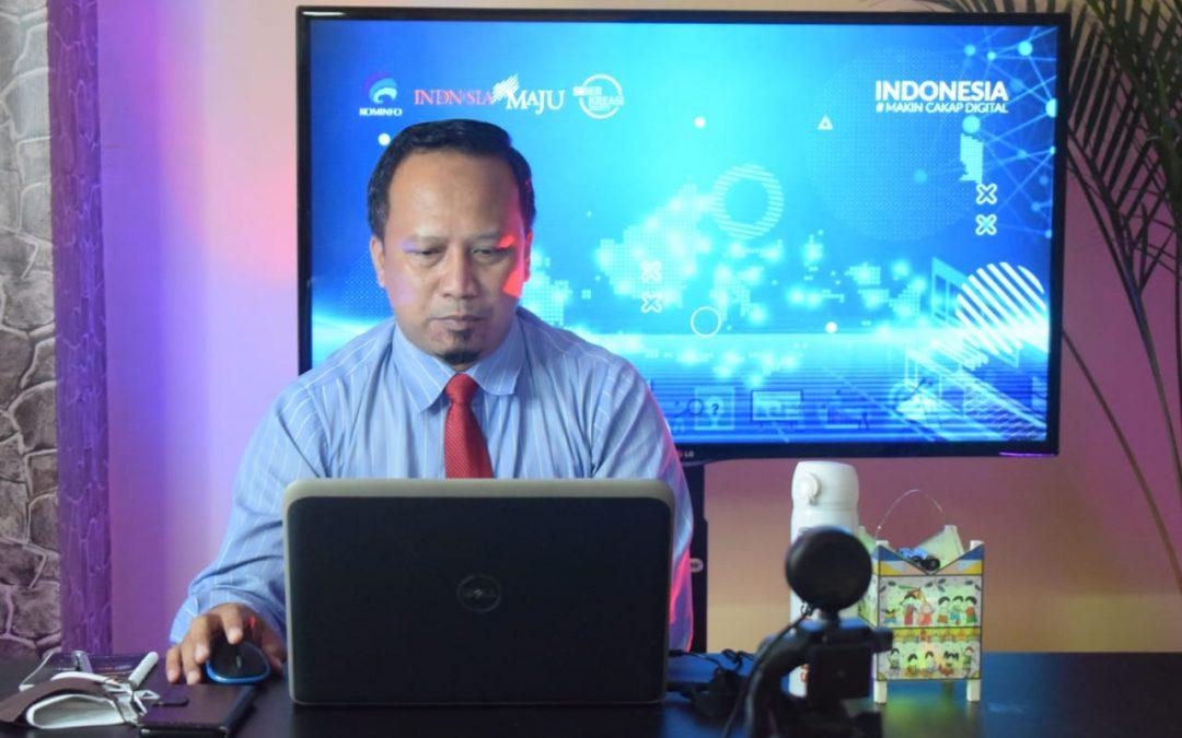 Kepala Smamsatu Gresik Dipercaya Menjadi Pemateri Webinar Literasi Digital Kementerian Informasi dan Komunikasi Republik Indonesia Untuk Kedua Kalinya